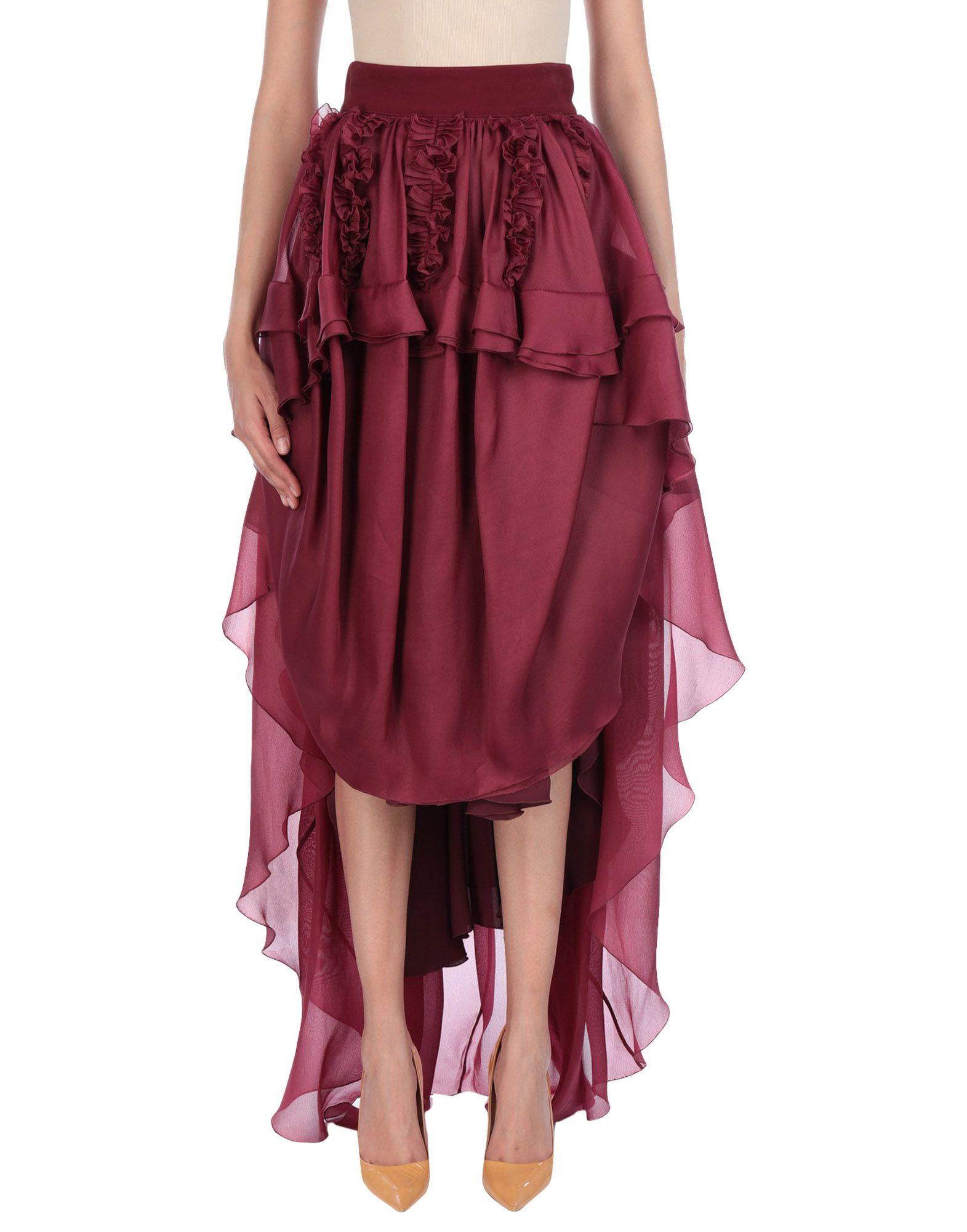ANTONIO BERARDI Длинная юбка antonio berardi мини юбка