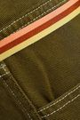 ACNE STUDIOS Dive Dye belted denim mini skirt