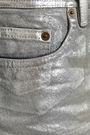 ACNE STUDIOS Metallic denim skirt