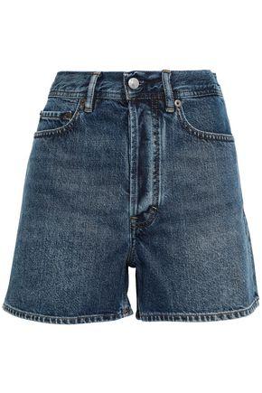 ACNE STUDIOS Swamp faded denim shorts
