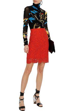 PROENZA SCHOULER コットン混コードレース スカート