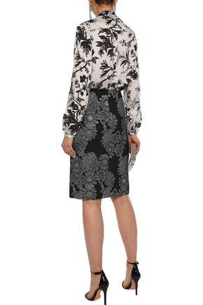 ERDEM Brenda brocade pencil skirt