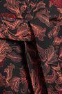 PROENZA SCHOULER Asymmetric printed crepe skirt