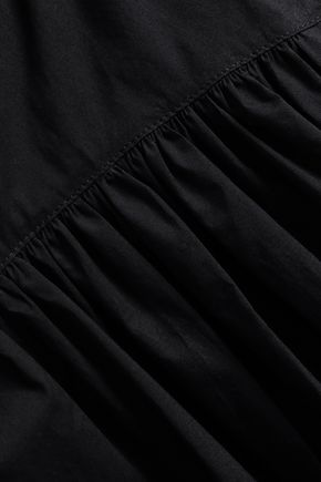 PROENZA SCHOULER ベルト付き コットンポプリン ミディスカート