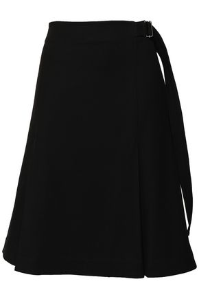PROENZA SCHOULER Pleated stretch-wool twill skirt