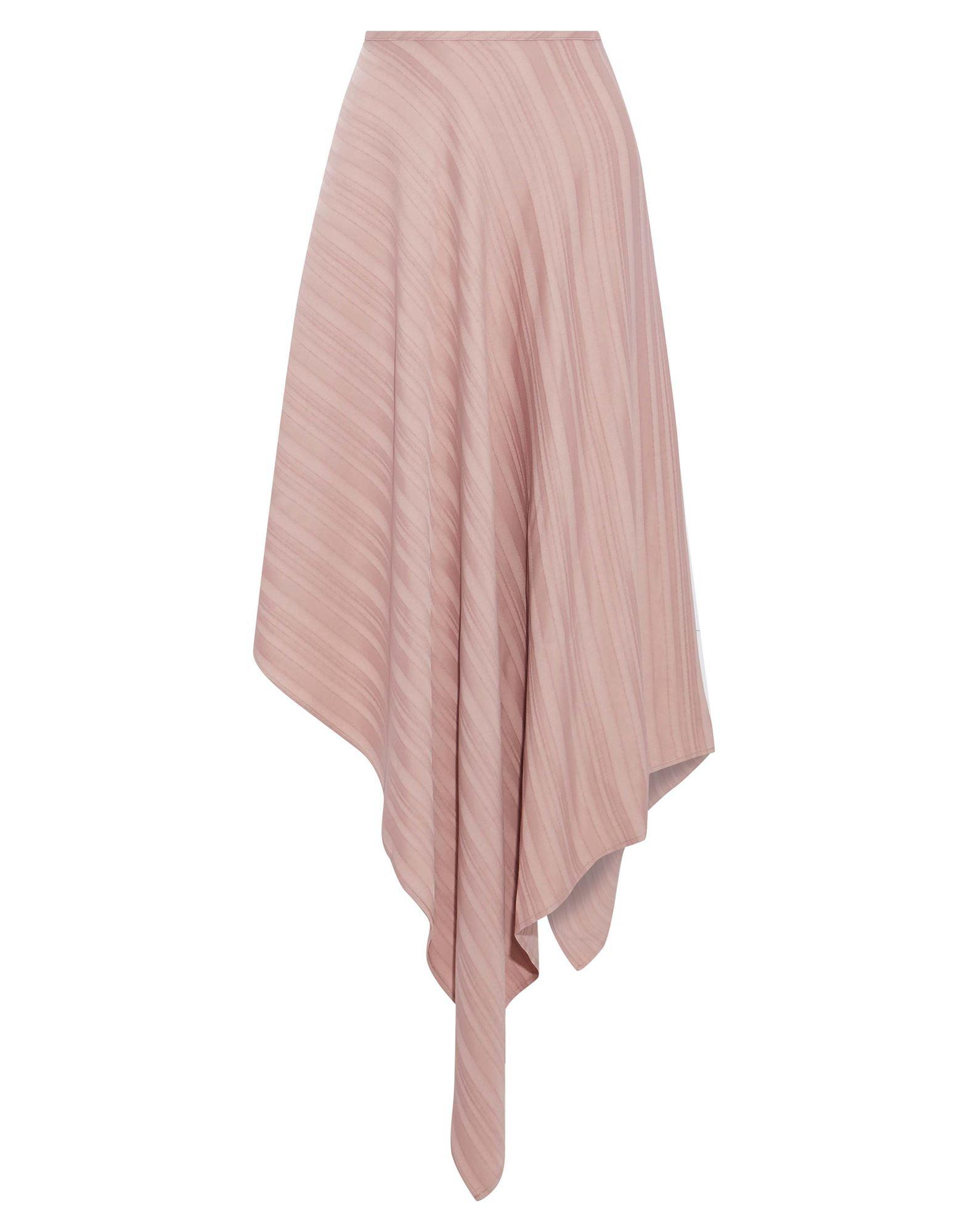 《期間限定セール中》SID NEIGUM レディース ひざ丈スカート ピンク 4 レーヨン 100%
