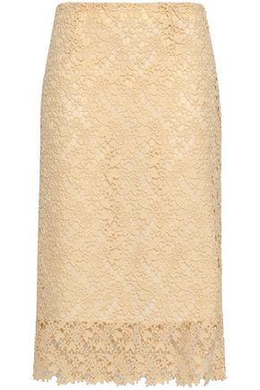 JOSEPH Wini guipure lace midi pencil skirt