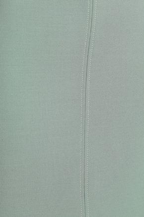 JOSEPH Holden split-front cady midi skirt