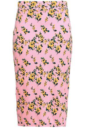 BAUM UND PFERDGARTEN Jaycee floral-print stretch-jersey pencil skirt