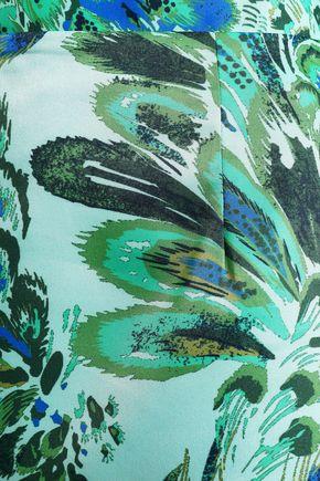 BAUM UND PFERDGARTEN Printed woven skirt