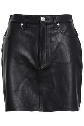 RAG & BONE Leather mini skirt
