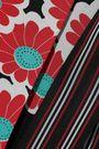 DIANE VON FURSTENBERG Taylor floral-print crepe de chine maxi wrap skirt