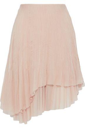 CHLOÉ Layered silk-georgette skirt