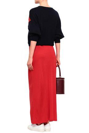 NINETY PERCENT Stretch-jersey maxi skirt