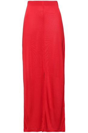 NINETY PERCENT Stretch-jersey maxi skirt