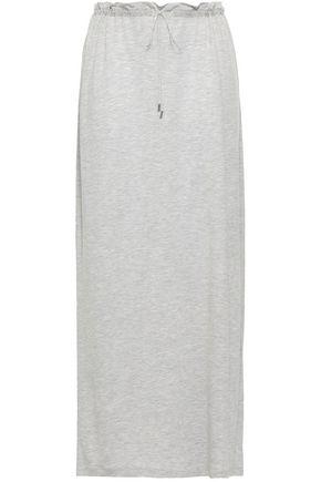 NINETY PERCENT Mélange stretch-jersey maxi skirt