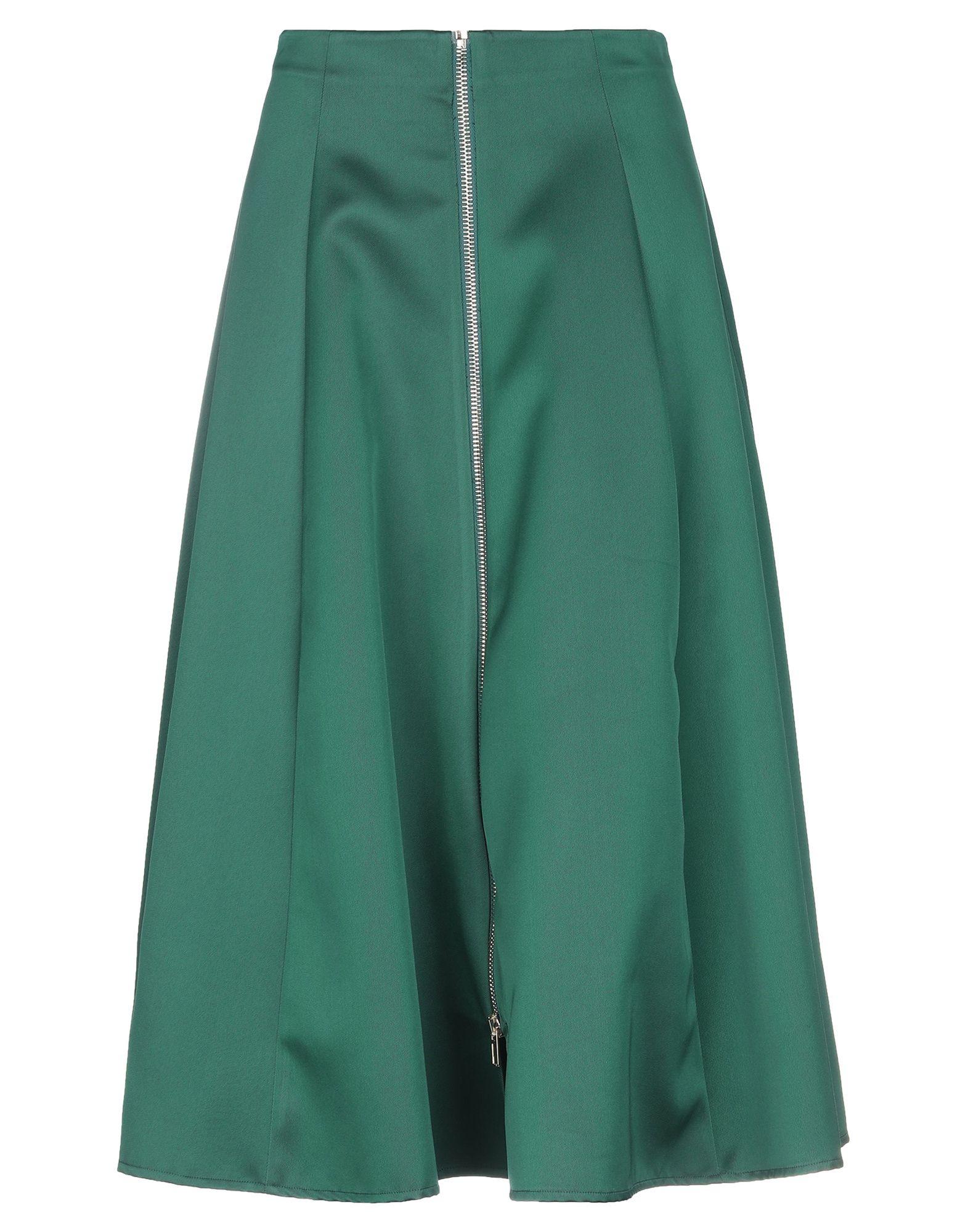 Suoli Long Skirts In Green