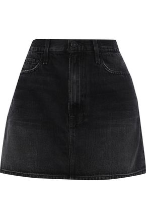 FRAME Le Mini denim mini skirt