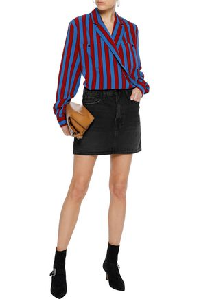 FRAME Le Mini denim mini skirt