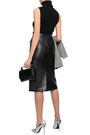 GIVENCHY Leather pencil skirt