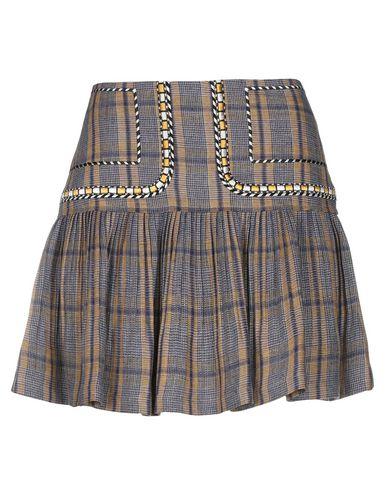 Купить Мини-юбка от ISABEL MARANT ÉTOILE цвет охра