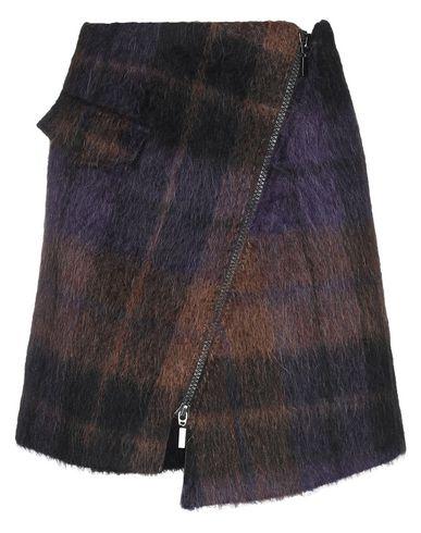 Фото - Юбку до колена от LALA BERLIN фиолетового цвета