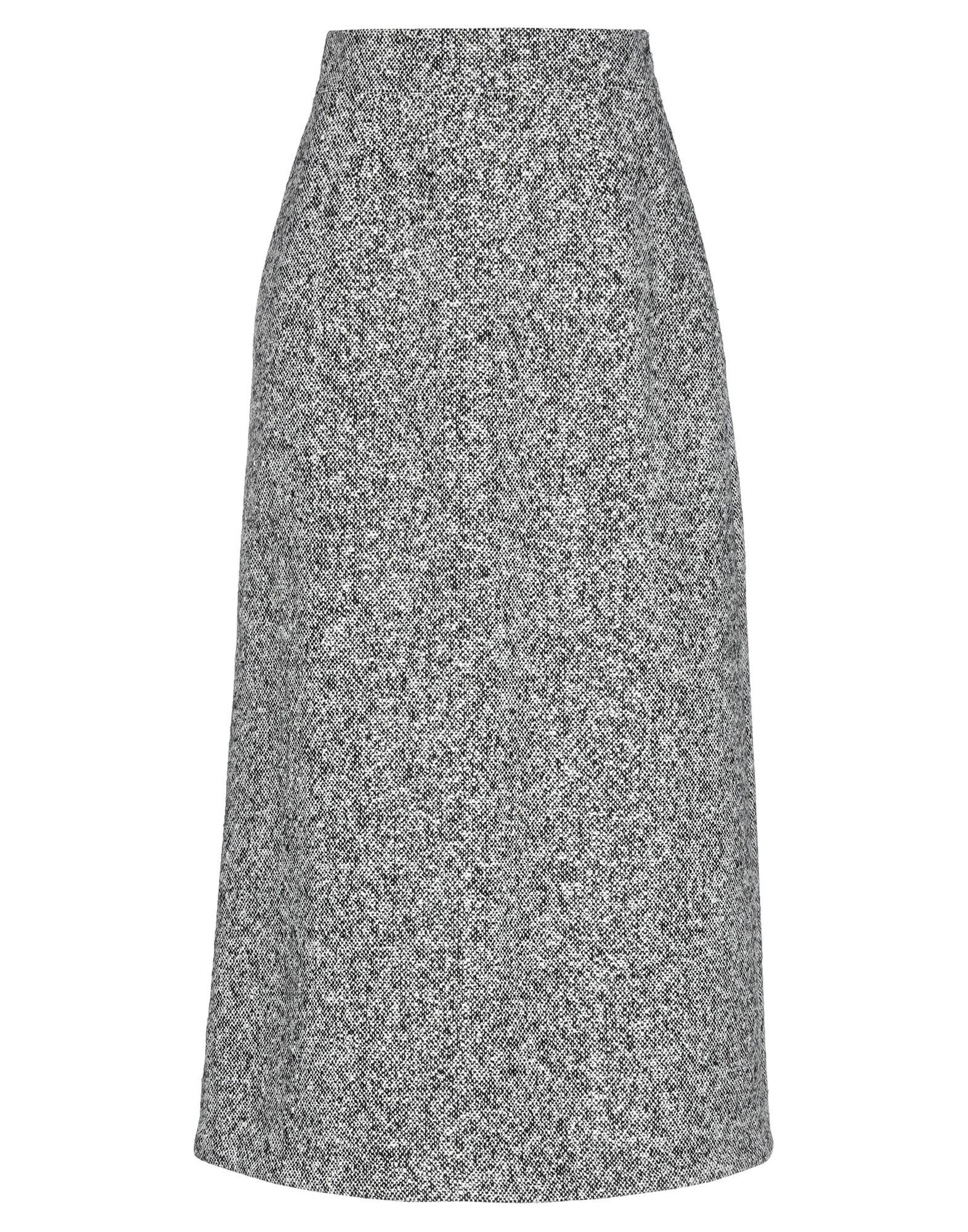 SAINT LAURENT Юбка длиной 3/4 saint laurent платье длиной 3 4