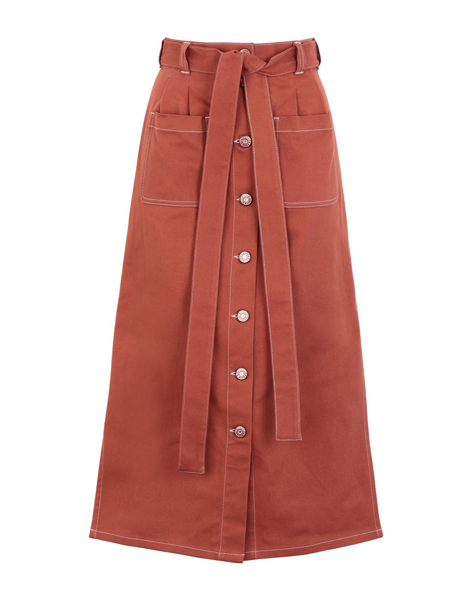 SEE BY CHLOÉ Джинсовая юбка цена и фото