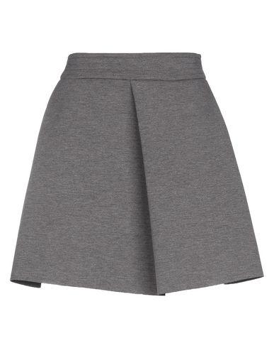 Фото - Мини-юбка свинцово-серого цвета