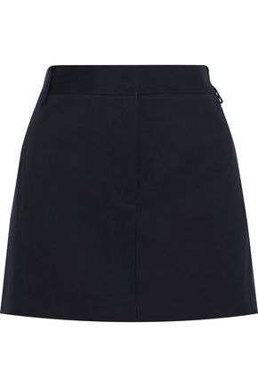 TIBI Margaux cotton-twill mini skirt
