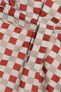 MARNI Button-detailed checked shell skirt