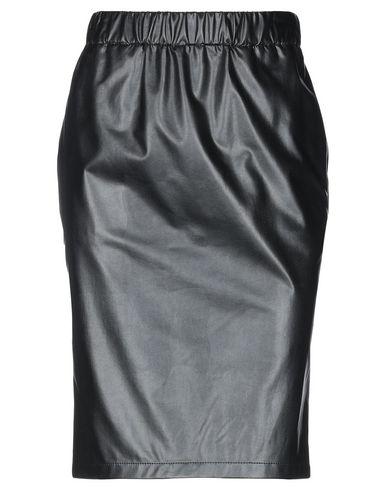 Купить Юбку до колена от BLUE LES COPAINS черного цвета