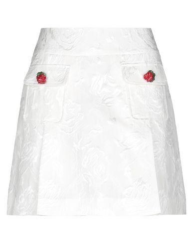 Купить Мини-юбка белого цвета