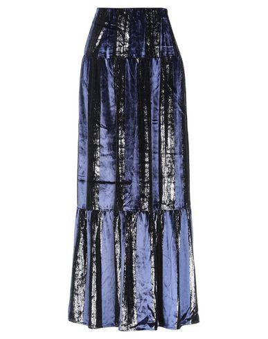 Фото - Длинная юбка от SE-TA Rosy Iacovone темно-синего цвета