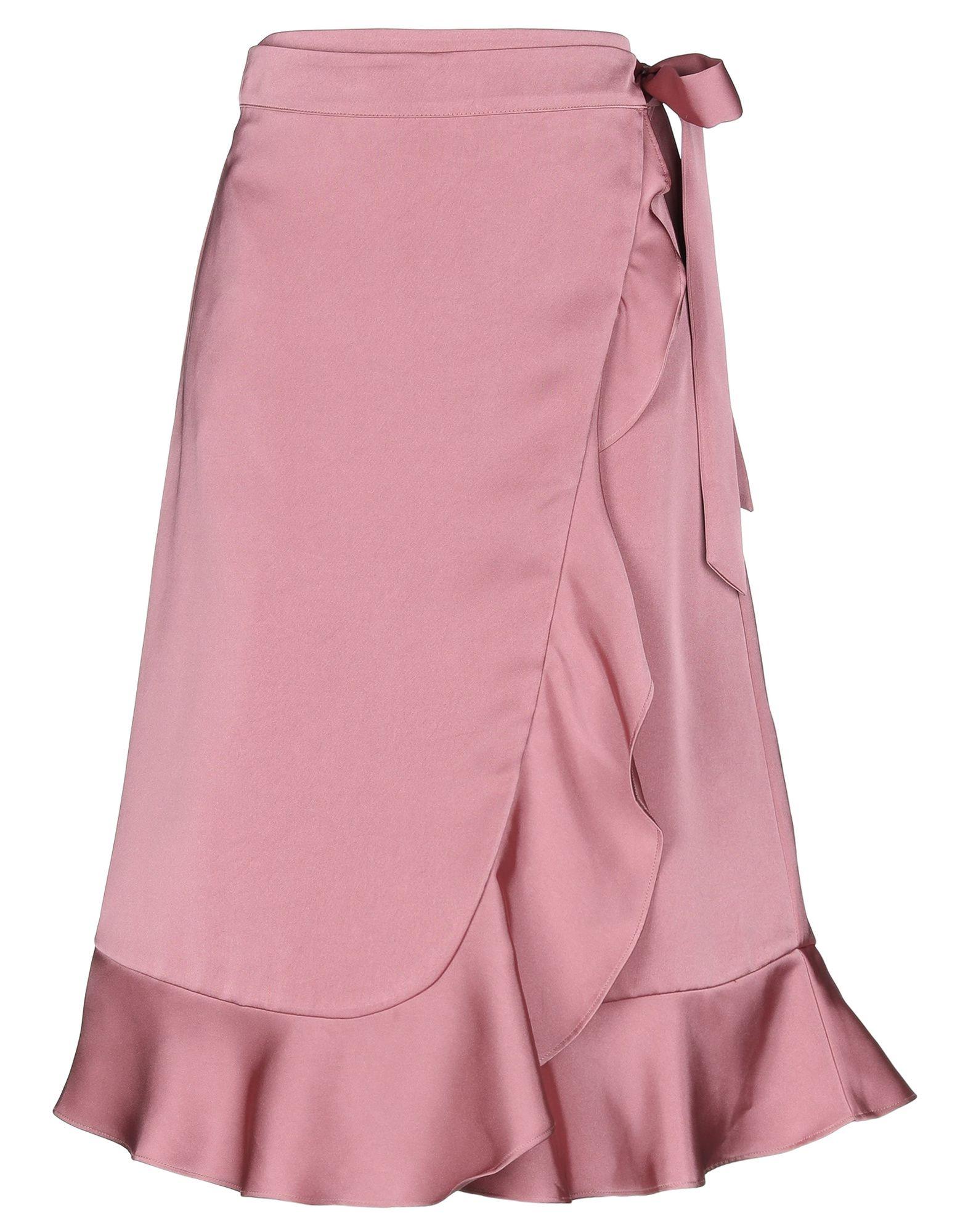 《セール開催中》BY MALINA レディース 7分丈スカート パステルピンク M ポリエステル 100%