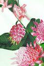 ISOLDA Elisa floral-print crepe skirt