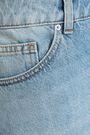 IRO Frayed distressed denim mini skirt