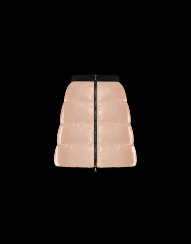 SKIRT Light pink Category Mini skirts Woman