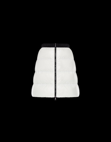 SKIRT Ivory Trousers Woman
