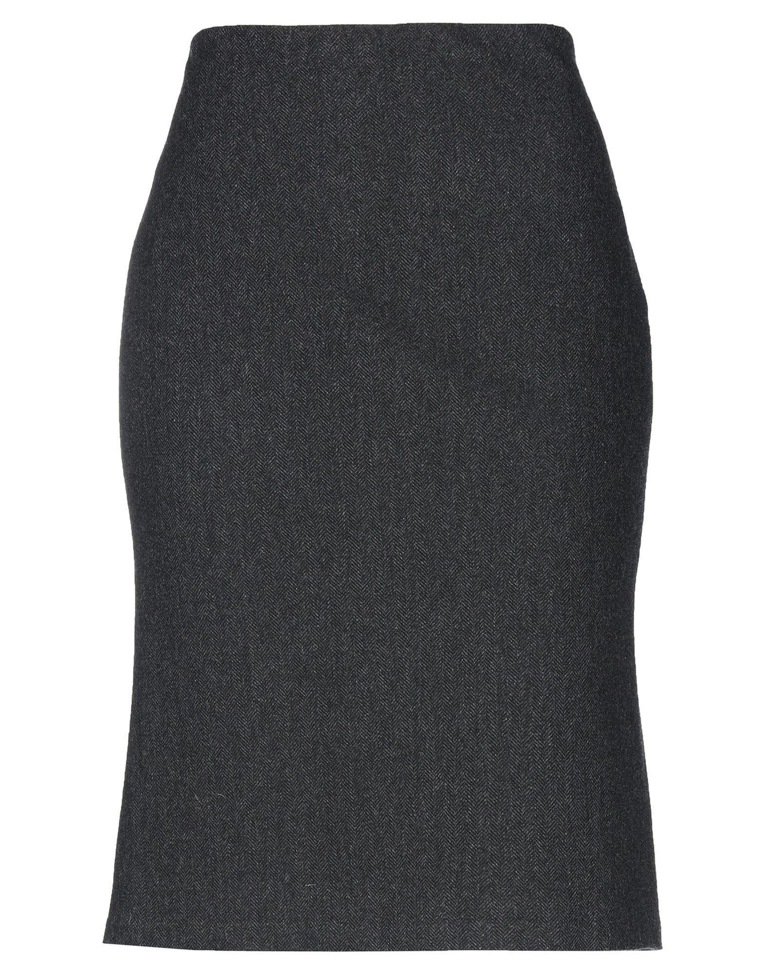 купить RALPH LAUREN BLACK LABEL Юбка до колена по цене 15050 рублей