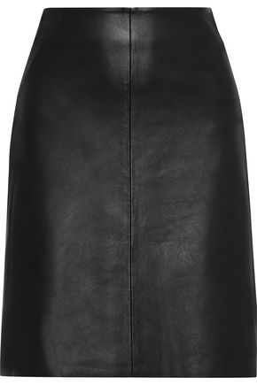 IRIS & INK Sofie leather skirt