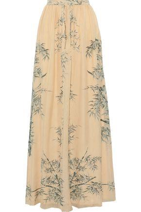 3ba68faac PHILOSOPHY di LORENZO SERAFINI Printed silk-chiffon maxi skirt