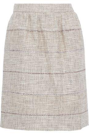ALBERTA FERRETTI Tweed mini skirt