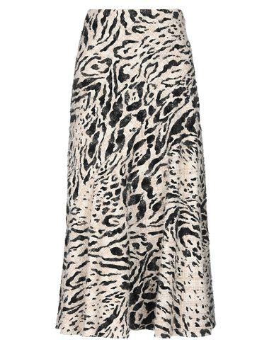Фото - Длинная юбка бежевого цвета