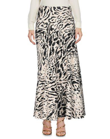 Фото 2 - Длинная юбка бежевого цвета
