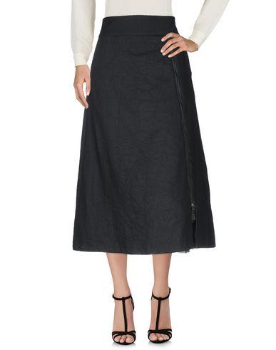Фото 2 - Длинная юбка от ®EVEN IF черного цвета