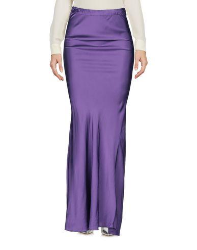 Фото 2 - Длинная юбка от PINK MEMORIES фиолетового цвета