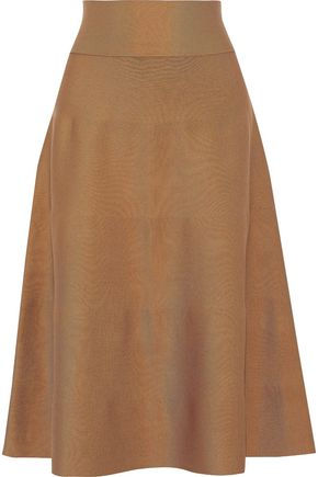 AGNONA Flared silk skirt