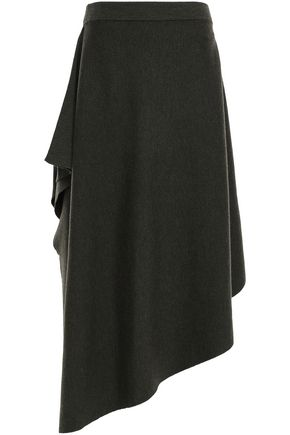 J.W.ANDERSON Asymmetric merino wool skirt