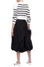 3.1 PHILLIP LIM Draped cotton-poplin skirt